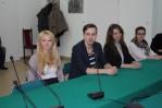 Wybrani radni Młodzieżowej Rady Miasta